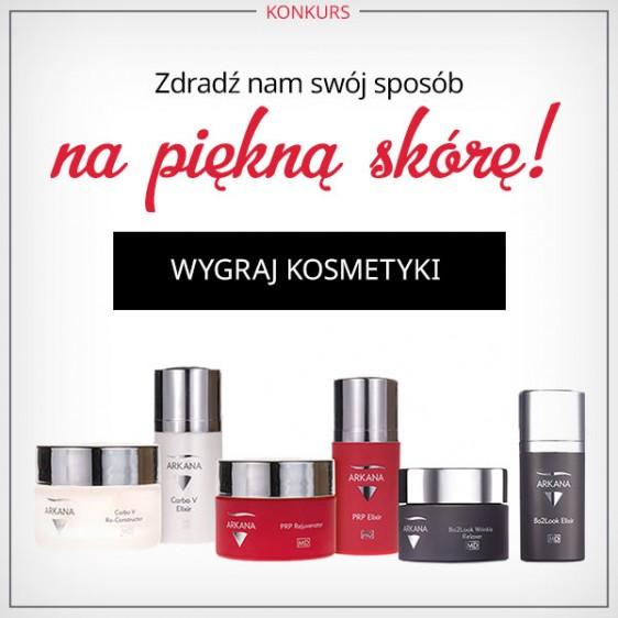 Konkurs! Wygraj zestaw profesjonalnych kosmetyków marki ARKANA