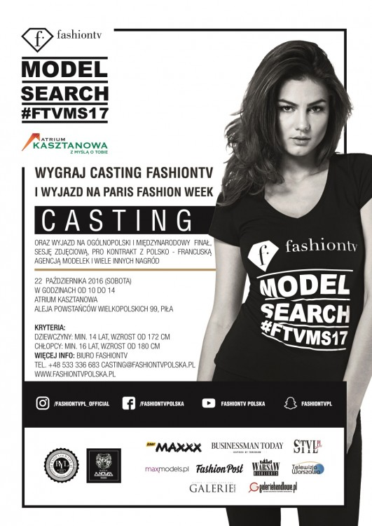 FashionTv Model Search 2017 - Piła