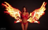 JBramerPhotography lovely Angelina the beautiful fire angel!