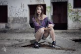 fotolizard Opis zdjęcia modelka: abletoall Natalia make_up: Joanna M. Art of Make Up foto: Fotolizard Tomasz Wojciechowski