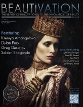 Kseniya_Arhangelova Cover of Beautivation magazine (USA)