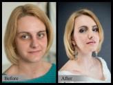 mejkapyrenaty Metamorfoza before-after :)
