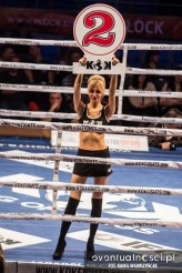 martyna66 Ring girl podczas gali King of Kings