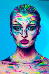 denysiuk Model, Make-up & paint : 