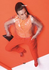 mroowiec Editorial ''Too much orange'' for Volant Magazine
