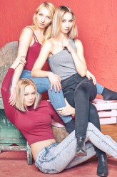 lenasosinska Three blond angels ...or devils? ;)
