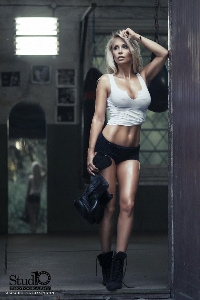 Секси девушка бокс 9 фотография