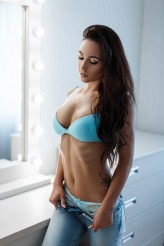 Alonesdj Beauty fashion model woman with lingerie