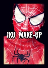 makeupiku zabawy w Spidermana :D