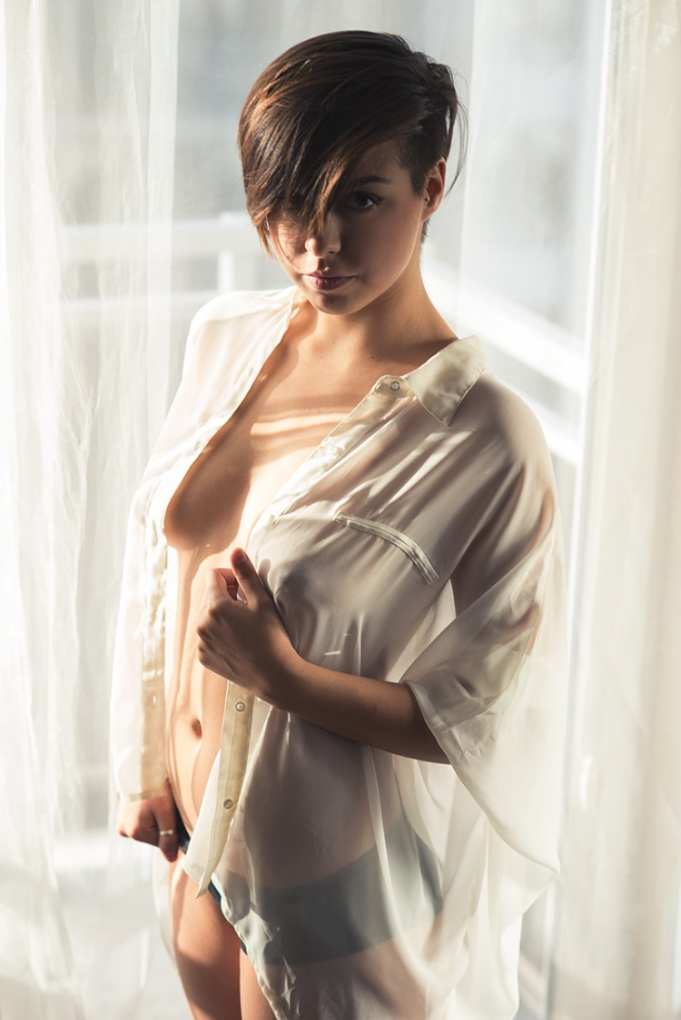 Sexy short haired women 391 about one