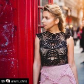 AliJakubowska Top and skirt by Laura Theiss
