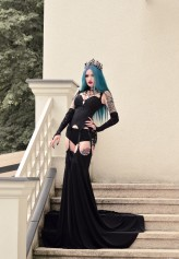 BlueAstrid Photo: Lady Sabbath / clothing designer: Vintage Imperial