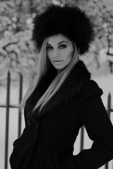 ekopczynska Russian Winter, make up: Ja